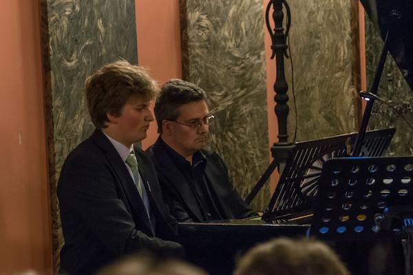 Alexander Winkler und Klaus Eberl, Klavier